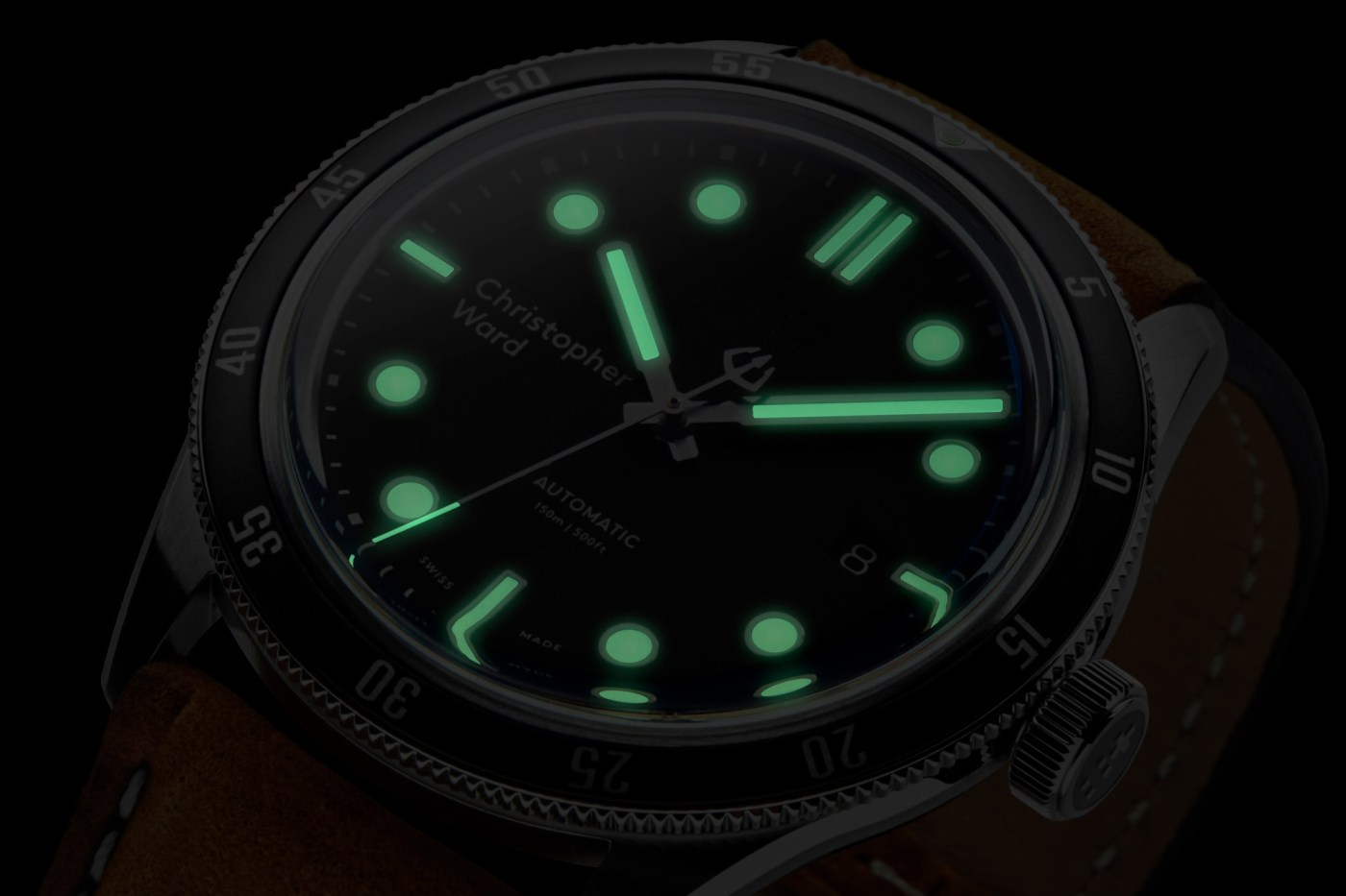 Christopher Ward C65 Trident Automatic lumeshot