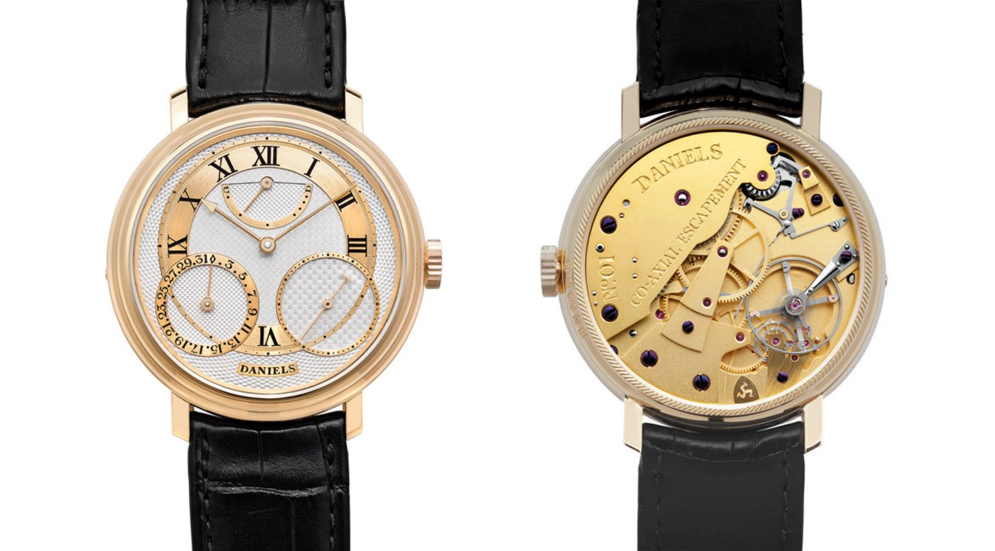 George Daniels 35th Anniversary watch