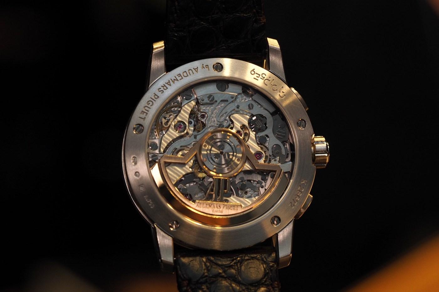 Audemars Piguet caliber 4401 in-house chronograph movemen