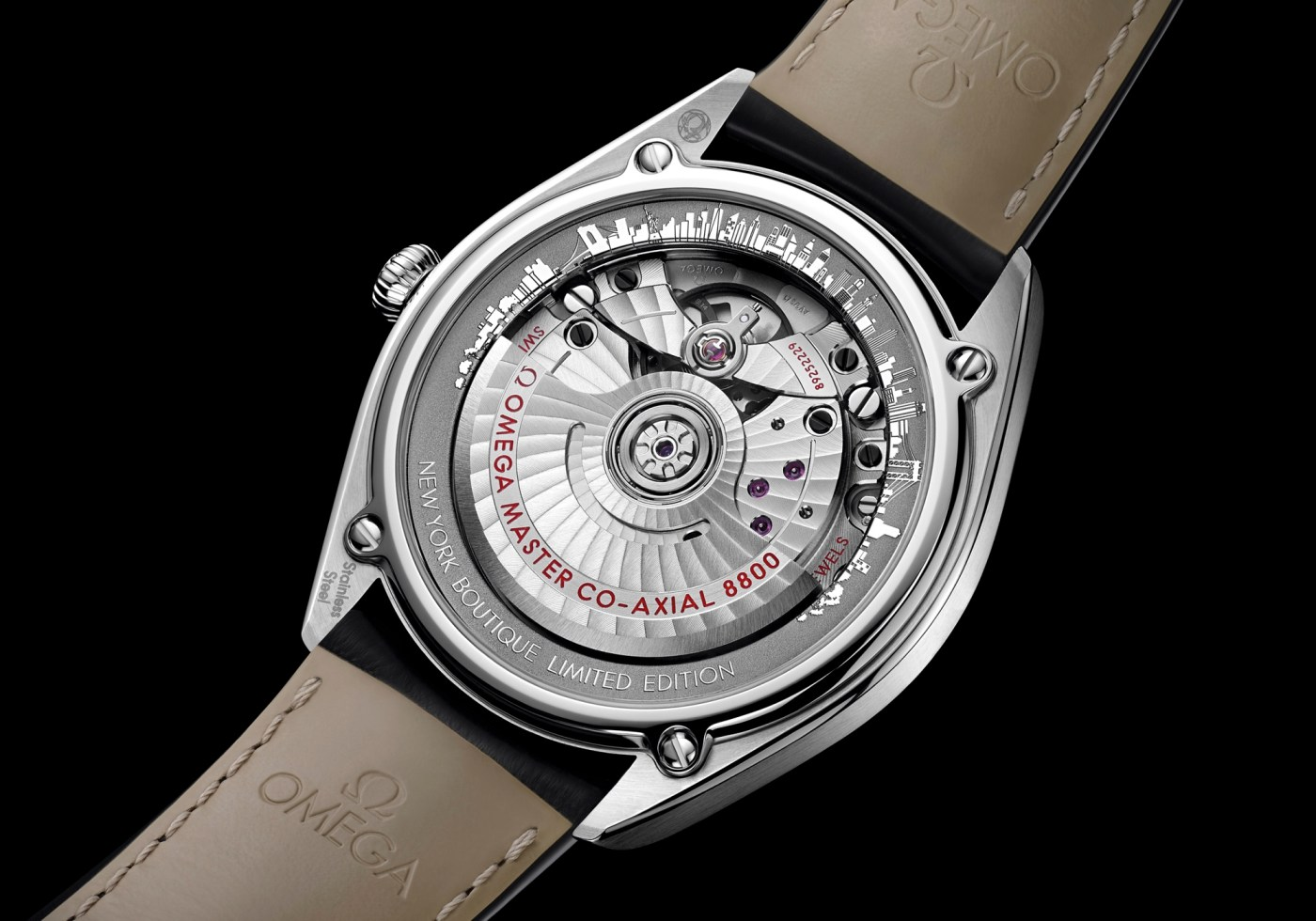 Omega Seamaster New York Limited Edition caseback