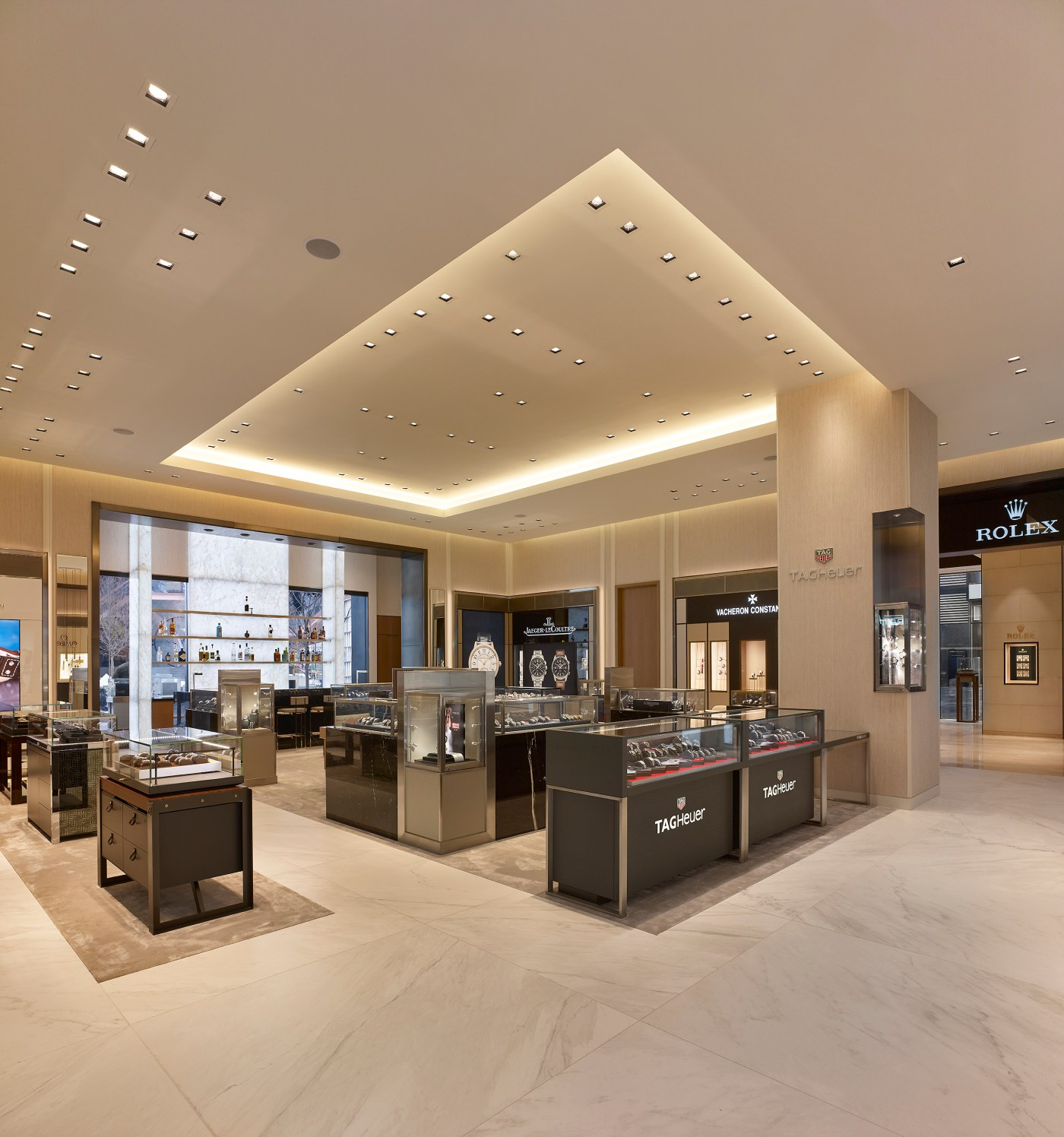 Watches of Switzerland Hudson Yards interior