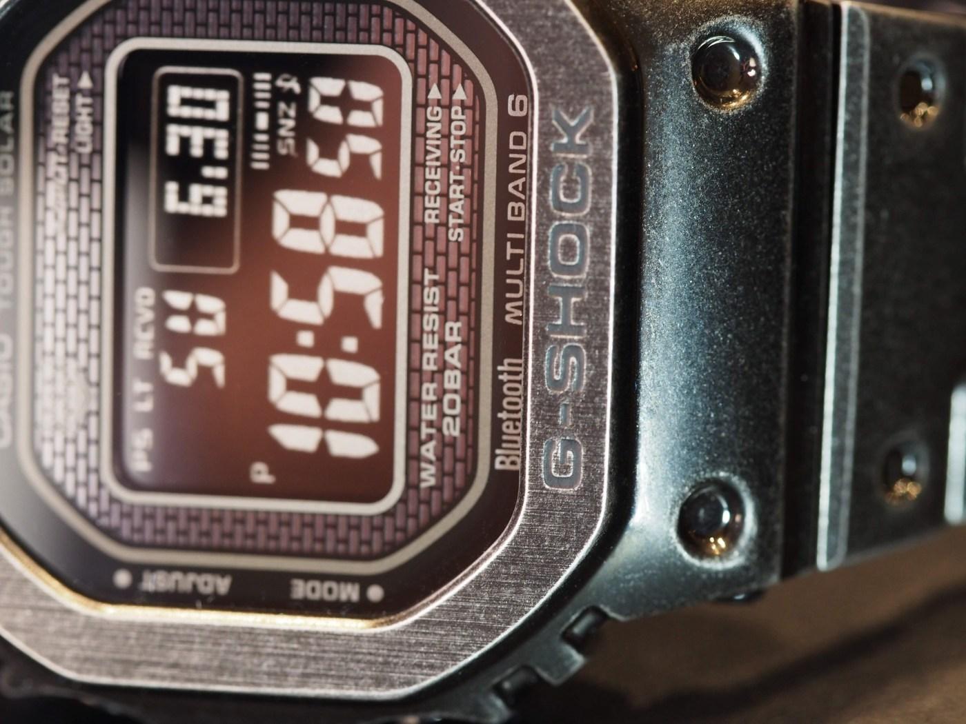 2019 G-Shock Full Metal Black Aged IP GMW-B5000V-1