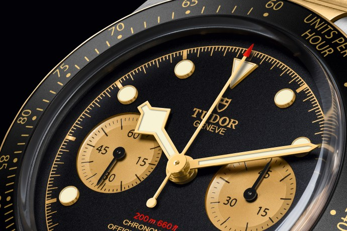 Tudor Black Bay Chrono Steel and Gold cover