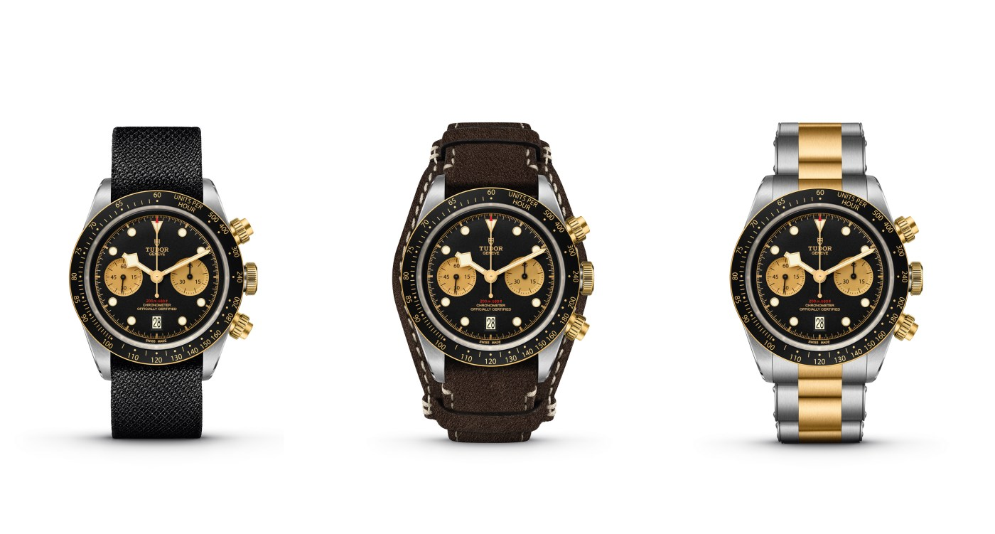 Tudor Black Bay Chrono Steel and Gold