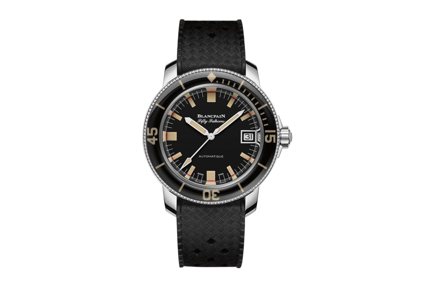 2019 Blancpain Fifty Fathoms Barakuda Limited Edition front side