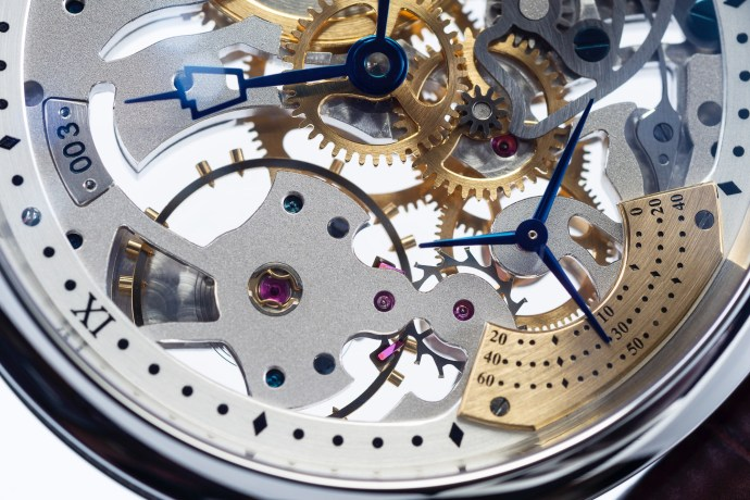 RGM PS-801 Skeleton escapement