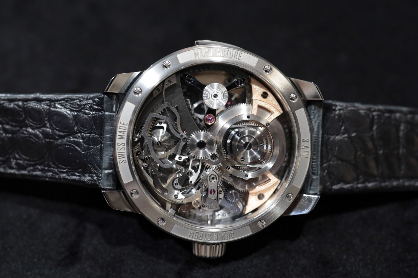 Armin Strom Minute Repeater Resonance caseback