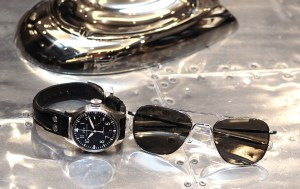 IWC Big Pilot Watch and Aviator Glasses