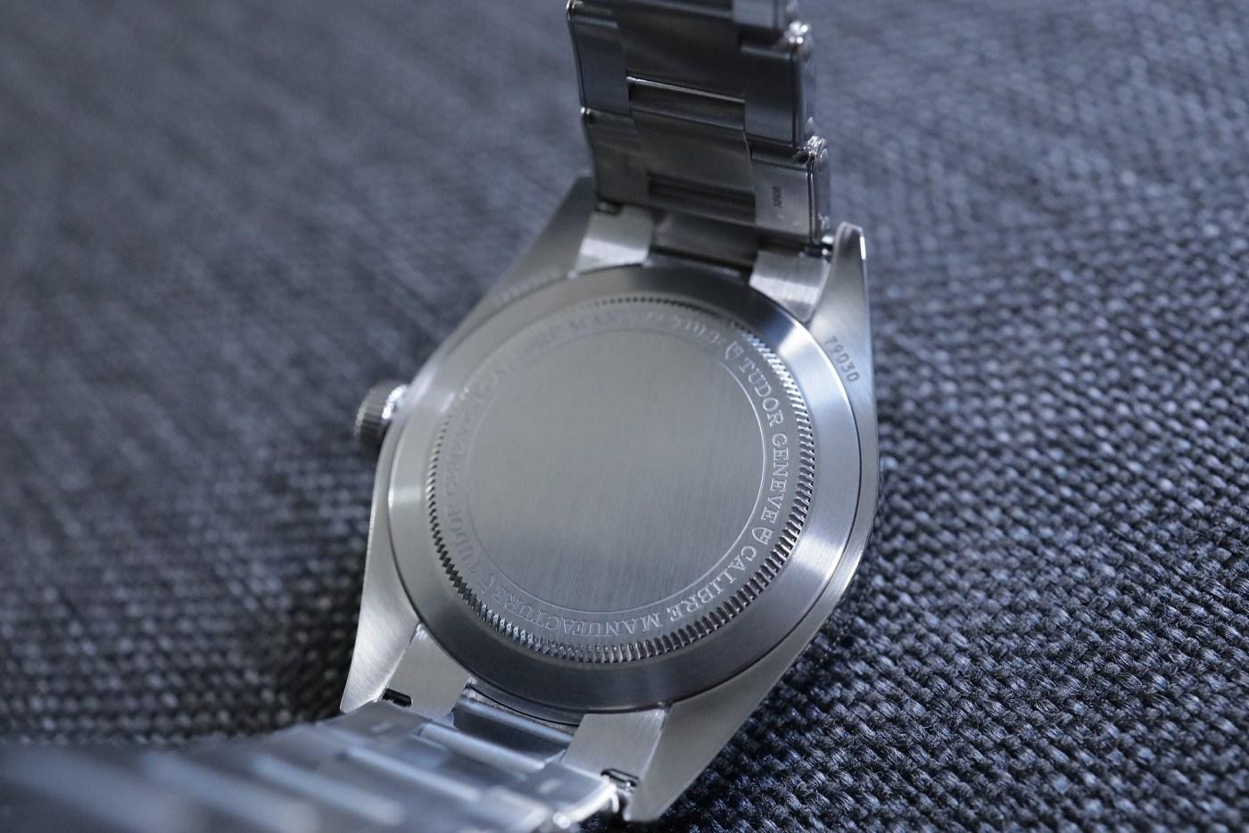 Tudor Black Bay 58 screw-in steel caseback