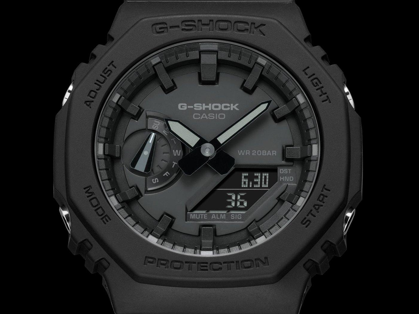 G-Shock GA-2100 Carbon Core Guard