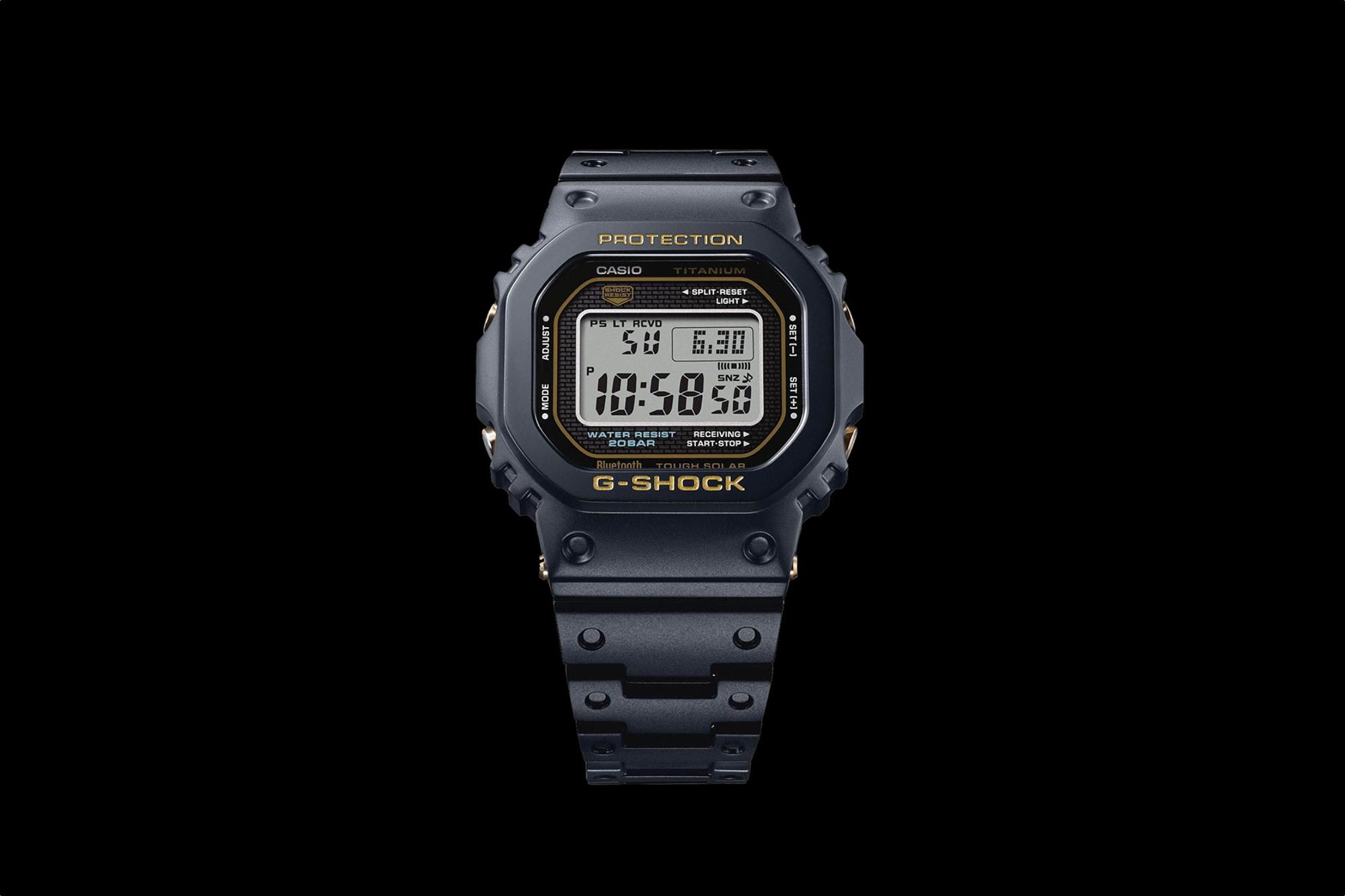 Titanium G-Shock 5000 Series GMW-B5000TB