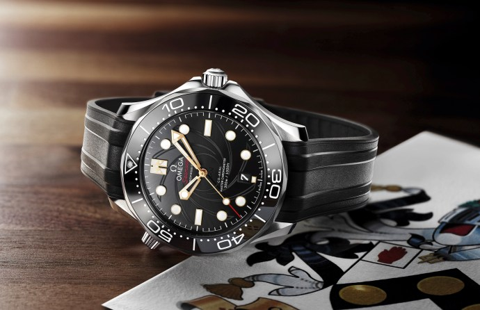 2019 Limited Edition Omega Bond Seamaster