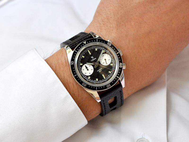 Yema Speedgraf wristshot