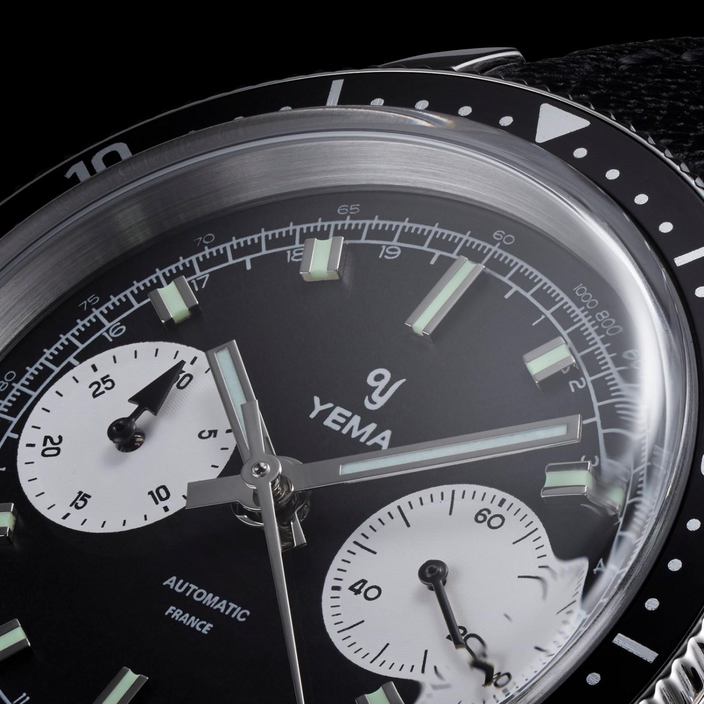 Yema Speedgraf crystal shot