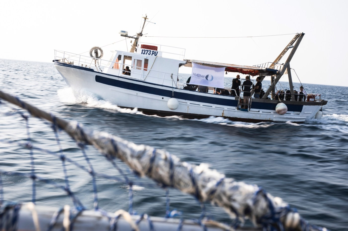 Since its start in 2013 Healthy Seas has collected over 500,000kgs of fishing nets