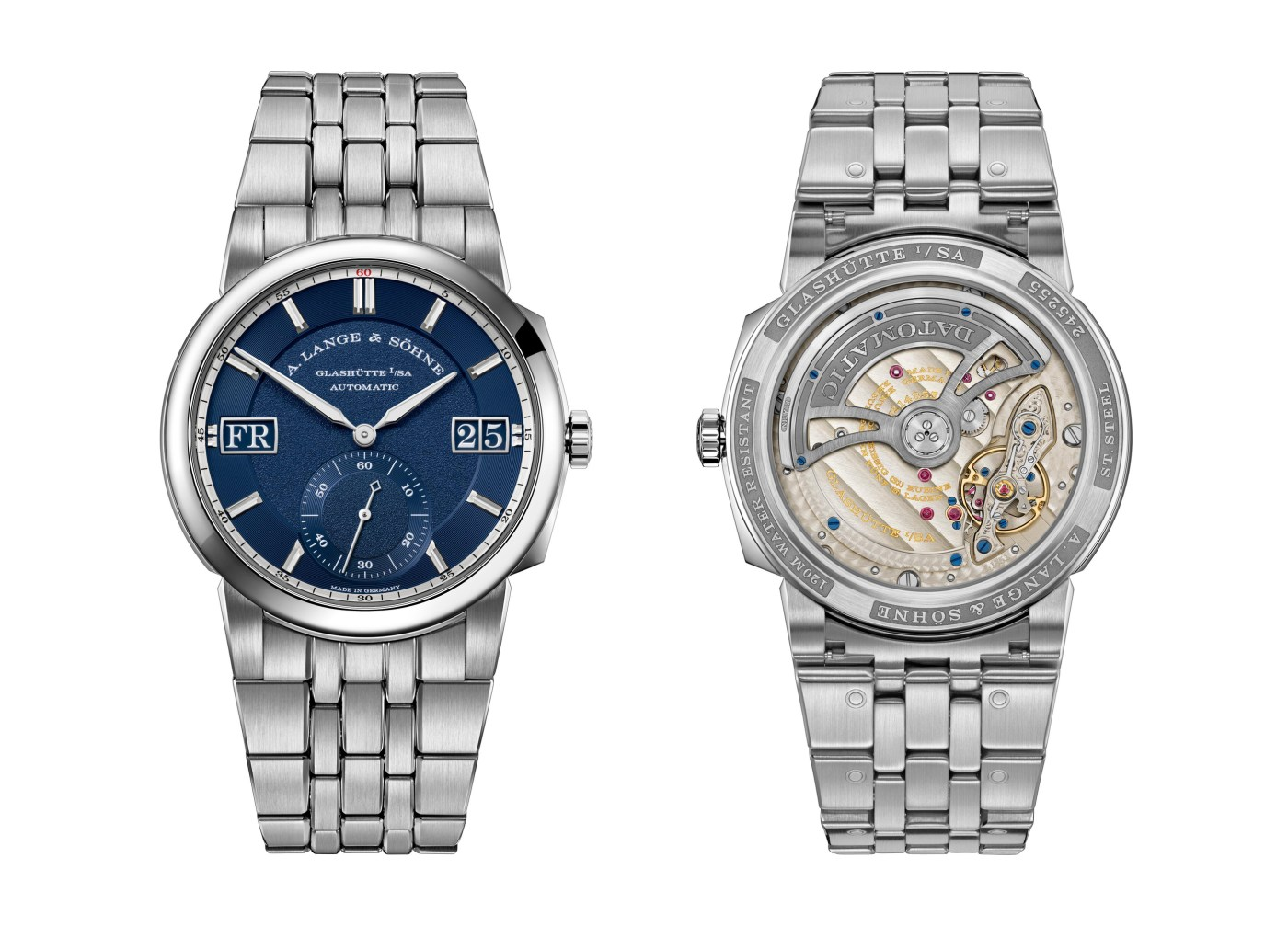A. Lange & Söhne Odysseus front and back