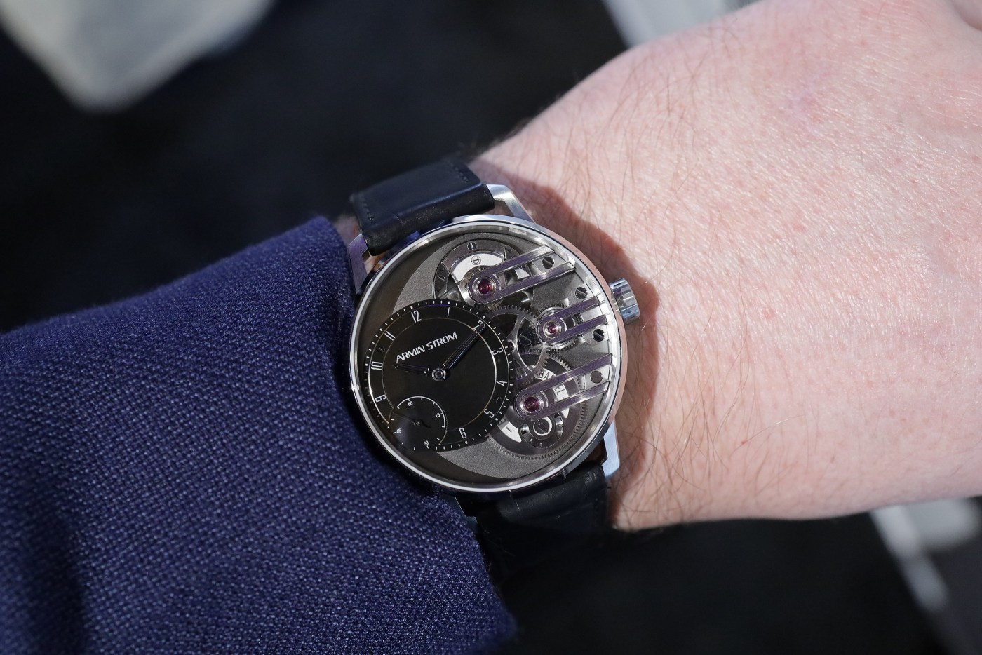 Armin Strom Gravity Equal Force System 78 wristshot