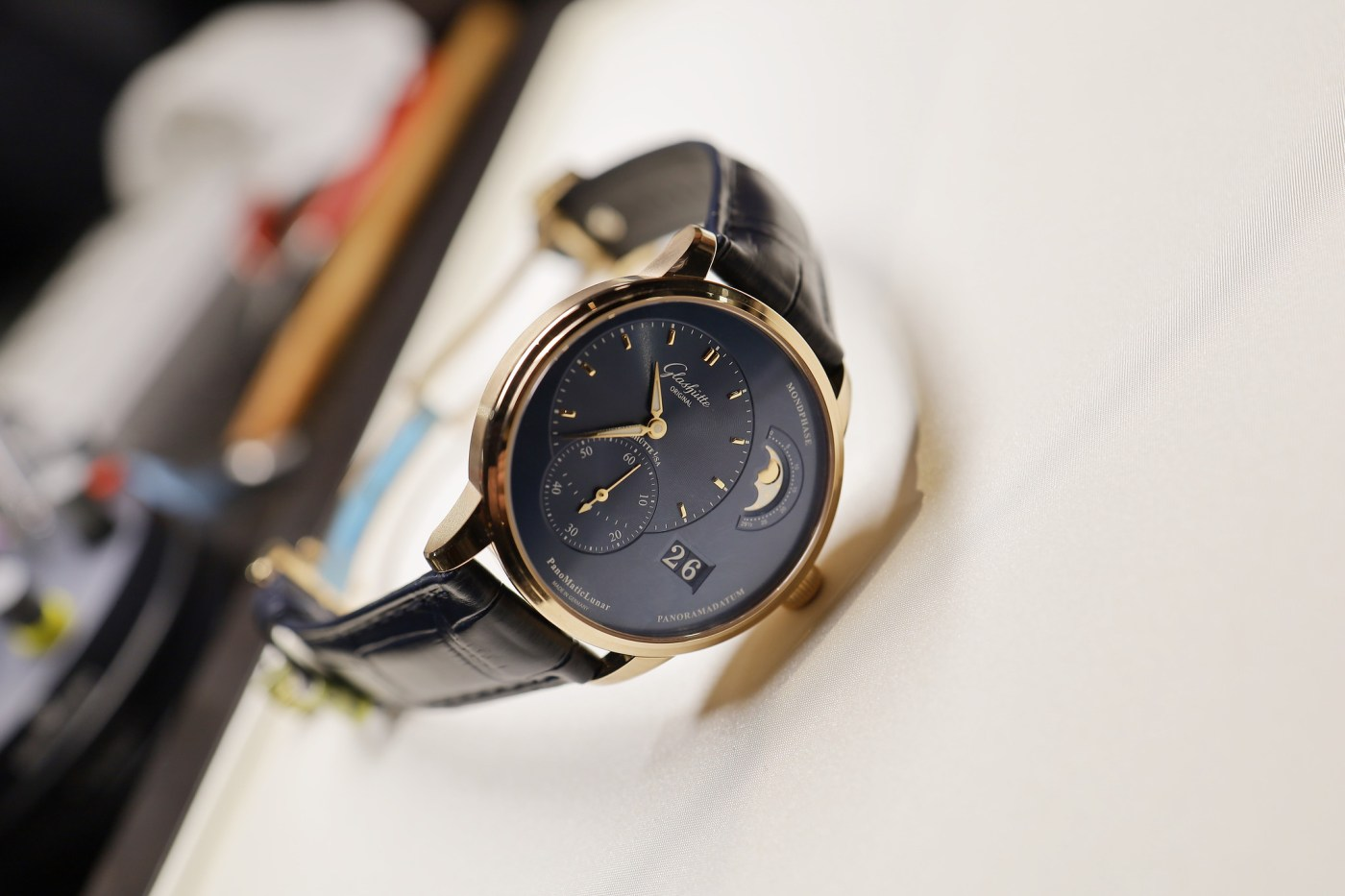 Glashutte Original PanoMaticLunar in solid 18K gold