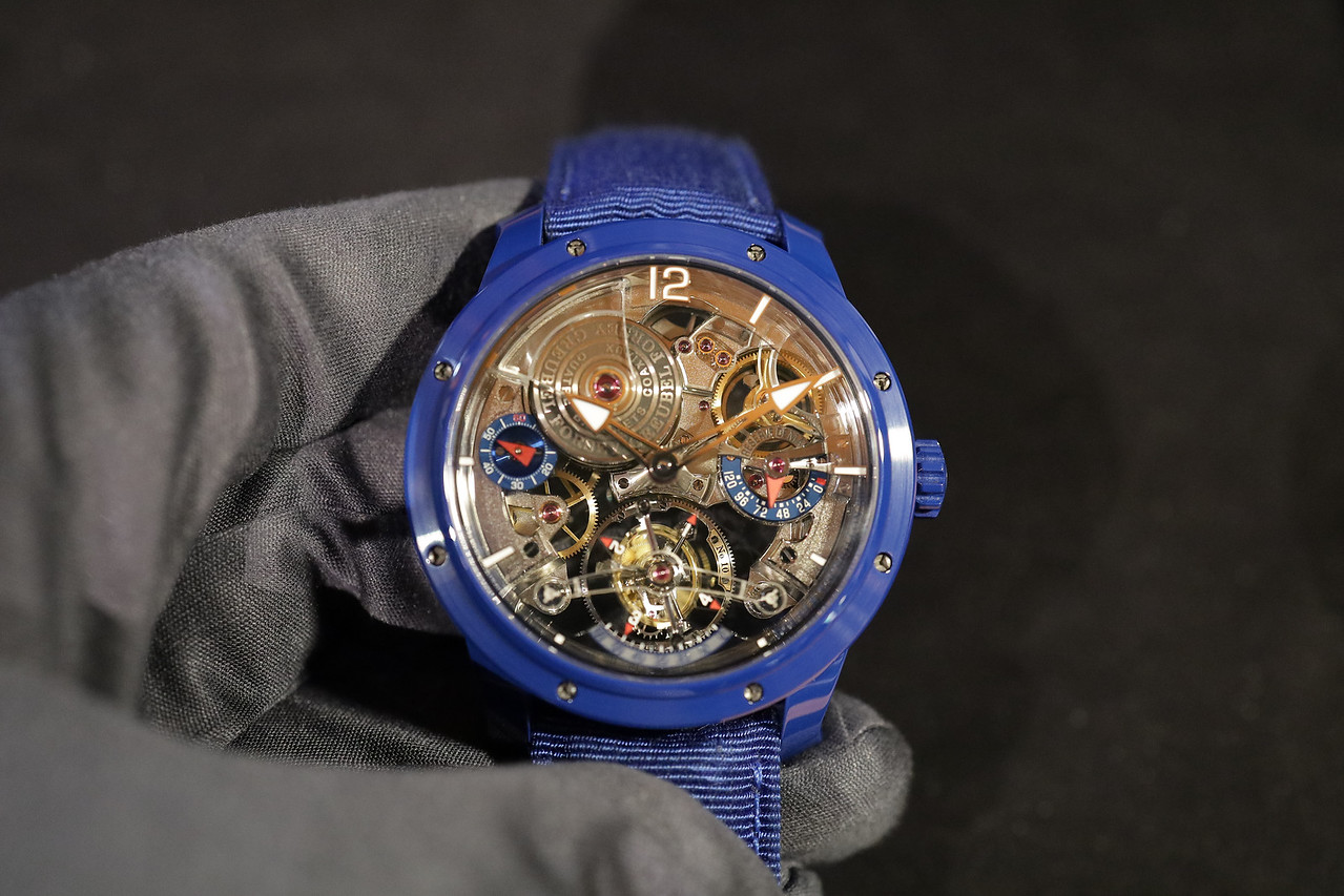 Greubel Forsey Double Tourbillon 30 Degree Technique Ceramic