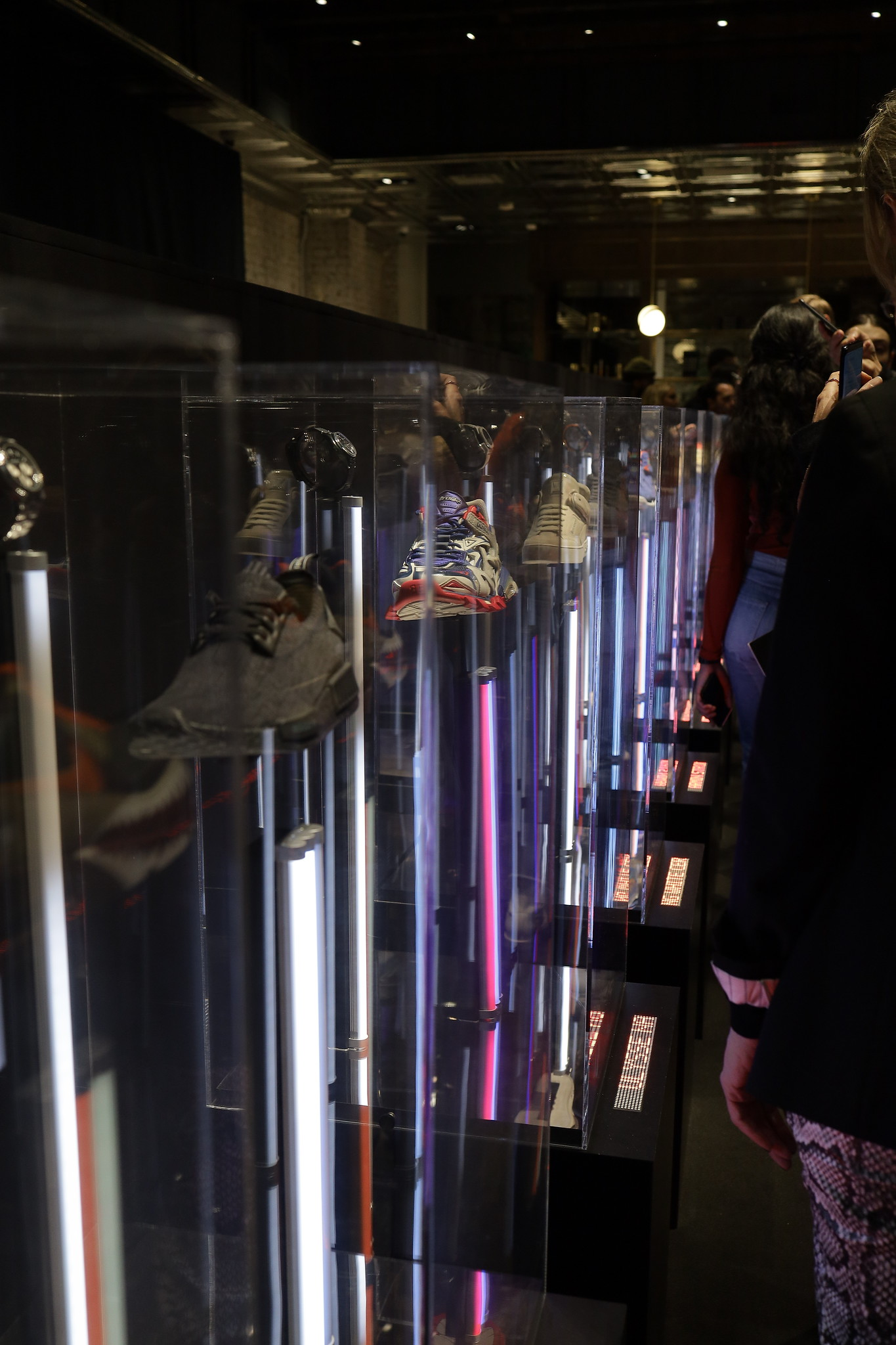 Watches of Switzerland SoHo basement #SneakerTime launch party