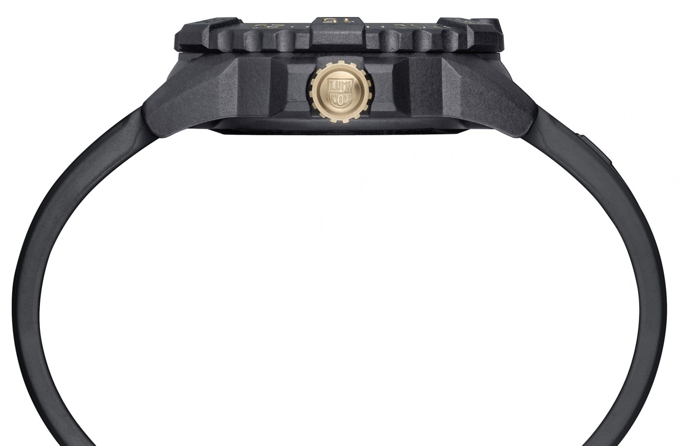 Luminox Navy Seal 3500 Gold side