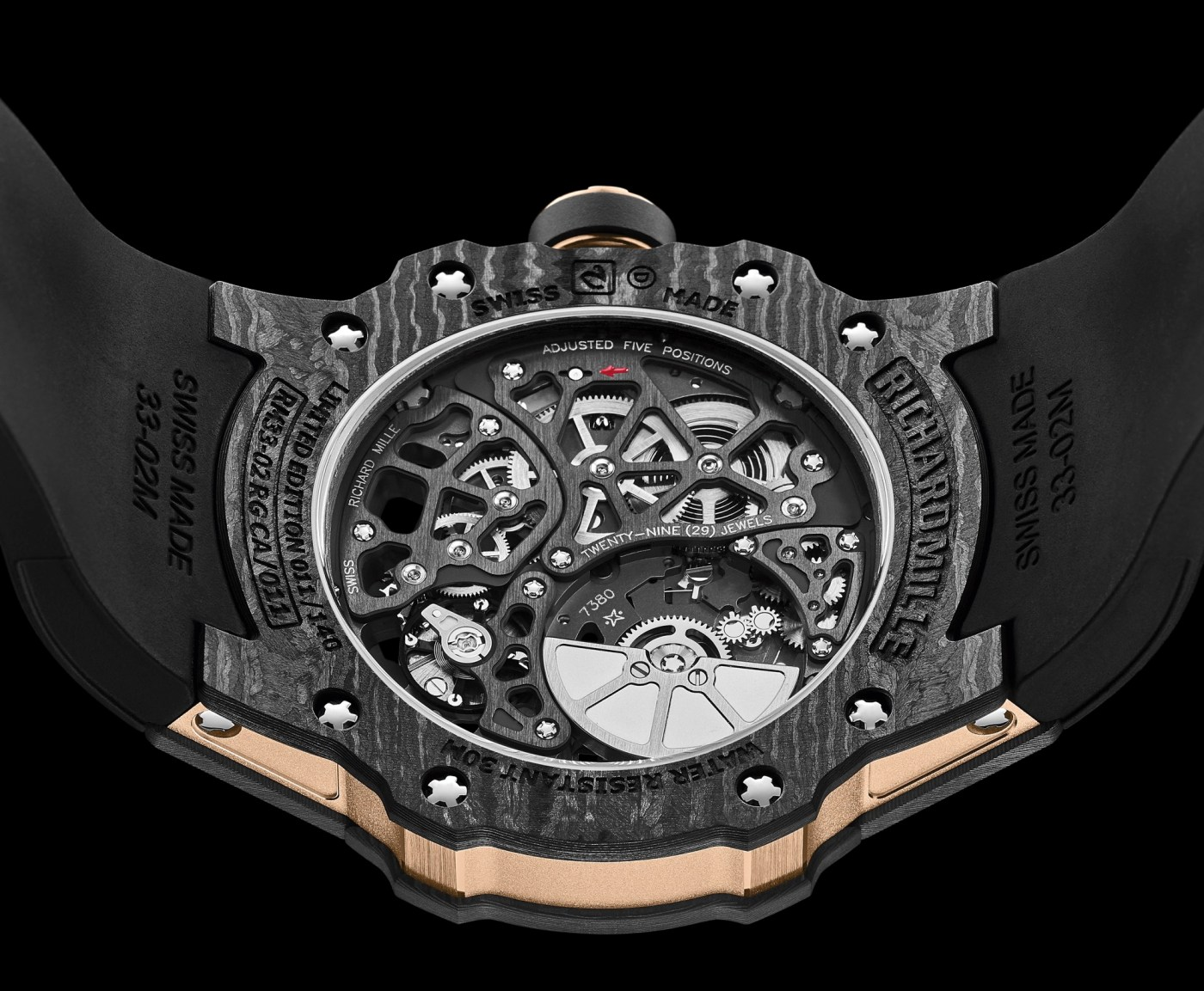 Richard Mille RM 33-02 Automatic caseback