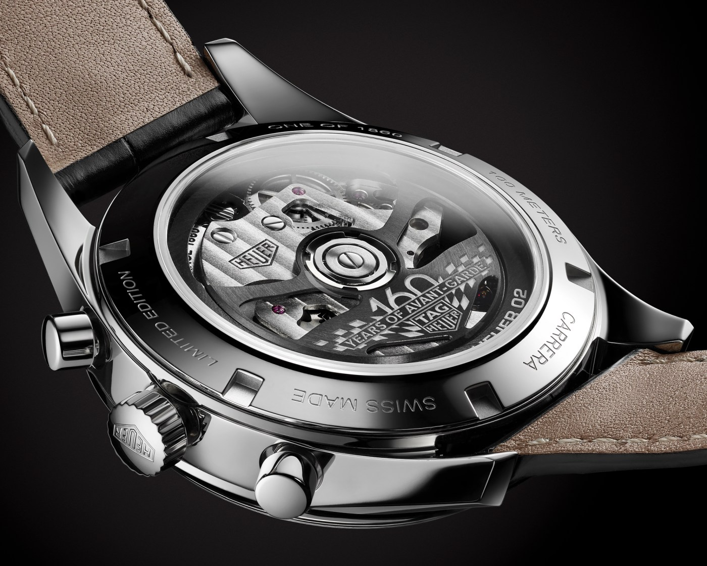 2020 TAG Heuer Carrera Silver Limited Edition caseback