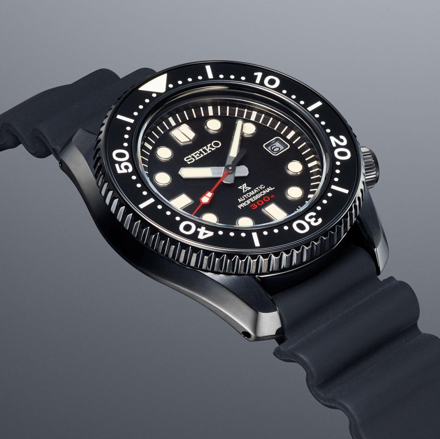 2020 Seiko Prospex Black Series Divers