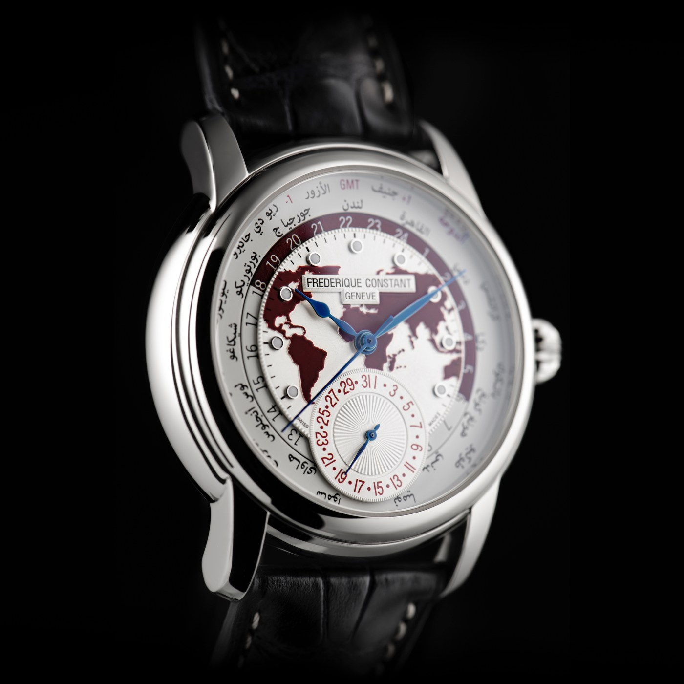 Classic Worldtimer Manufacture Qatar limited edition