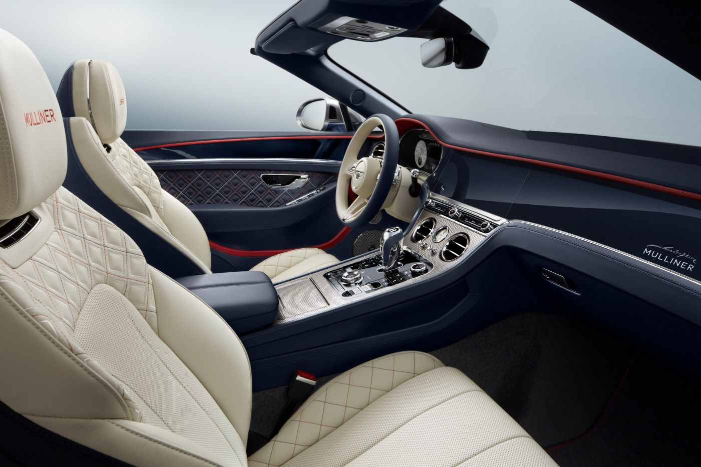 2020 Bentley Continental GT Mulliner Convertible interior