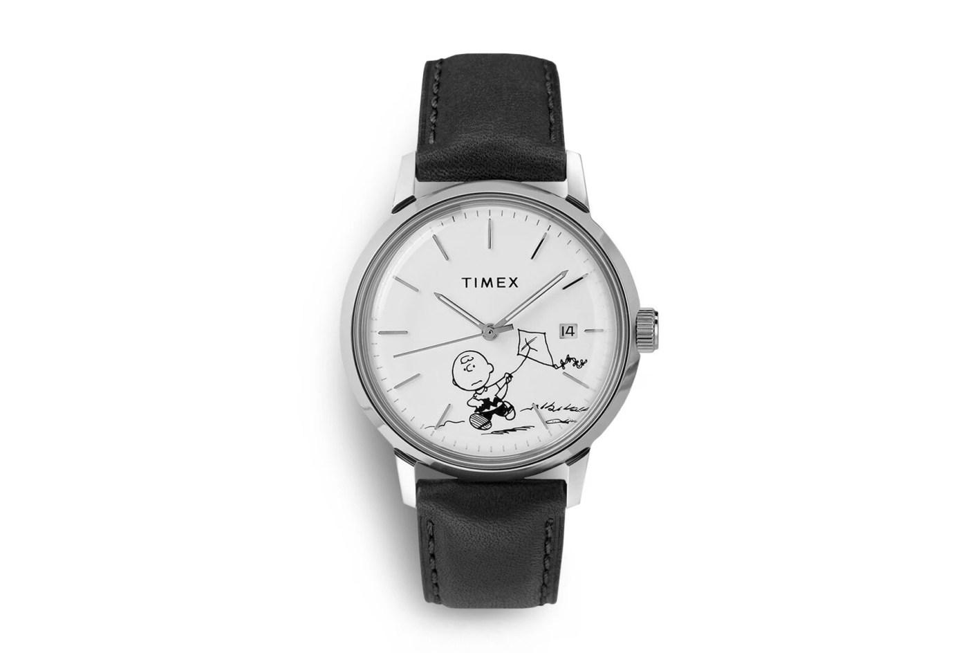 Timex x Peanuts Marlin Automatic Charlie Brown watch