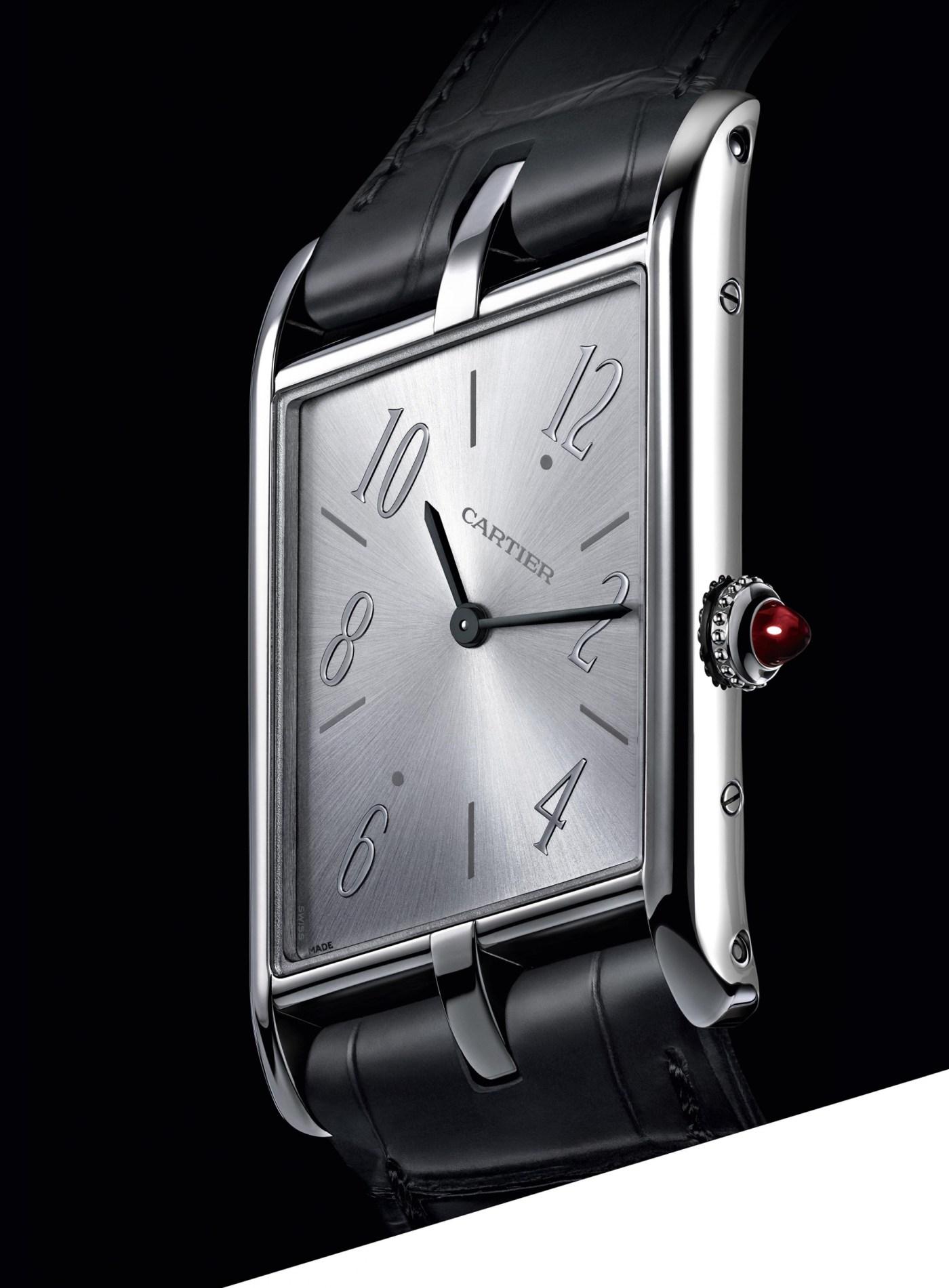 2020 Cartier Tank Asymétrique platinum