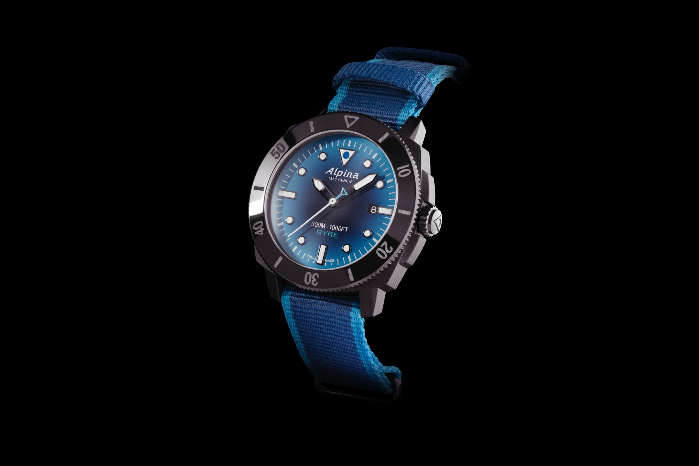 Alpina AL-525 Seastrong Diver Gyre Automatic main