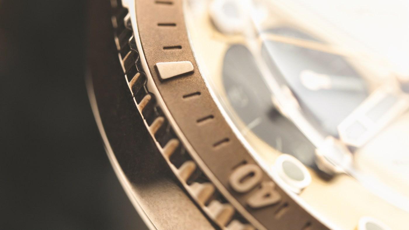 Oris Hölstein Edition 2020 close-up bezel
