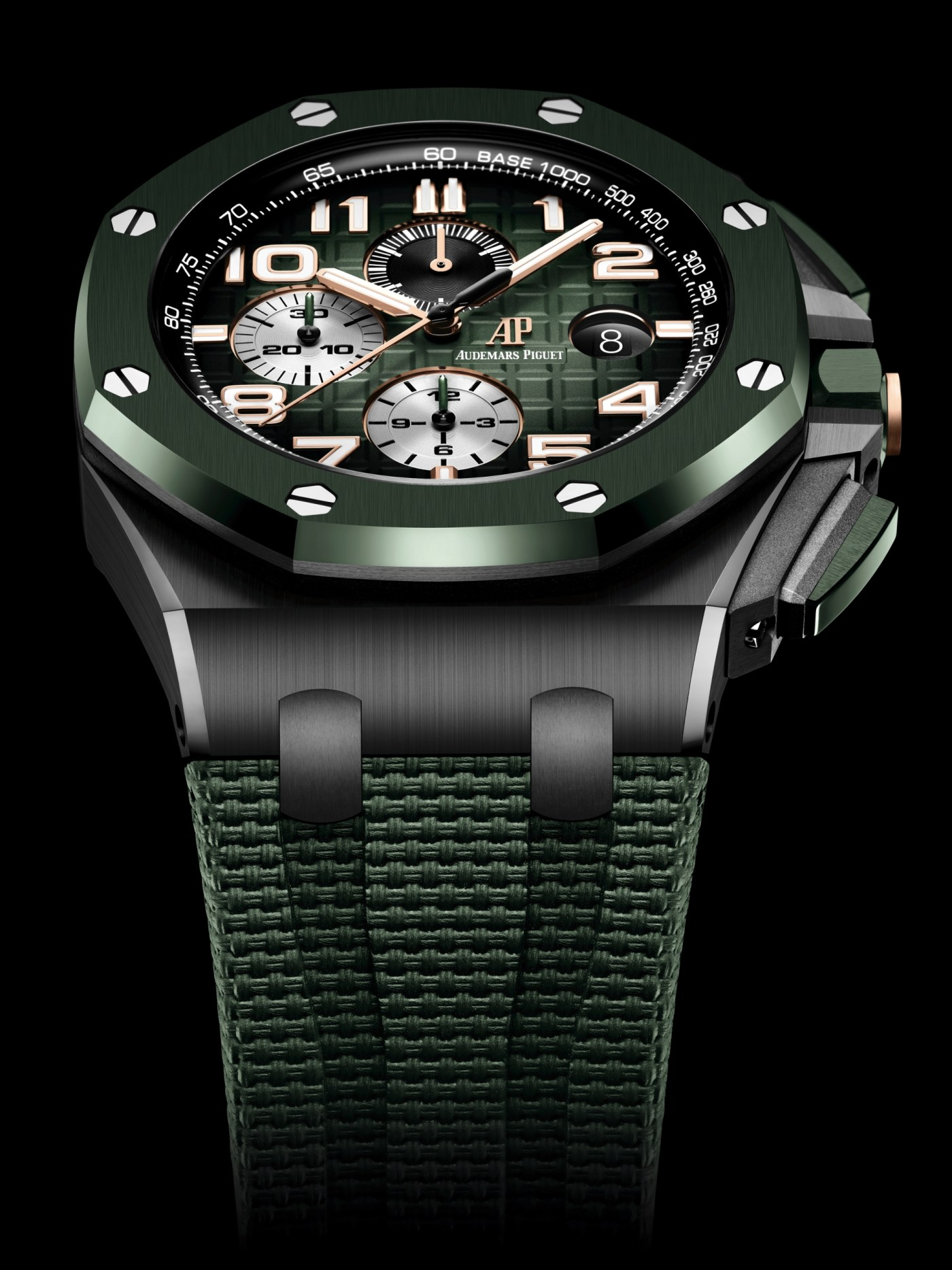 2020 Royal Oak Offshore Chronograph 44 mm Ceramic green