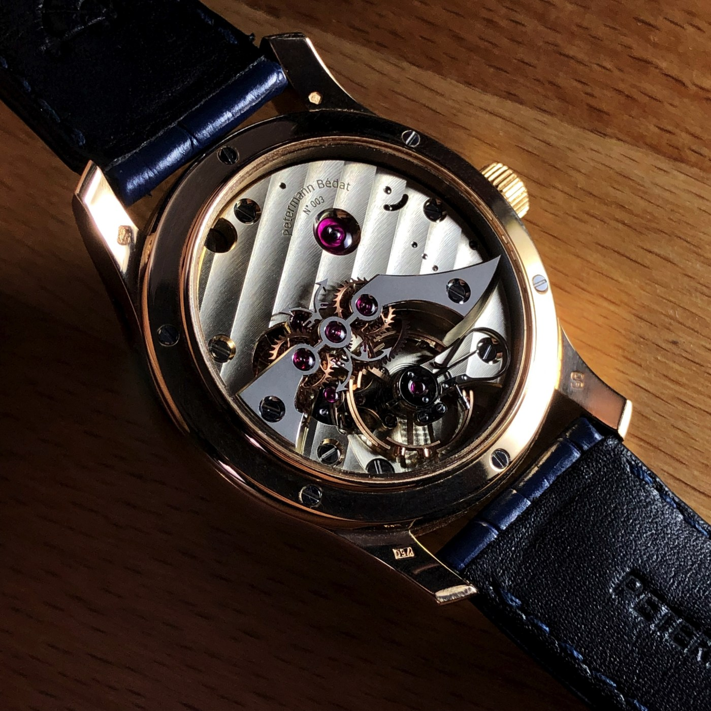 Petermann Bedat 1967 caseback
