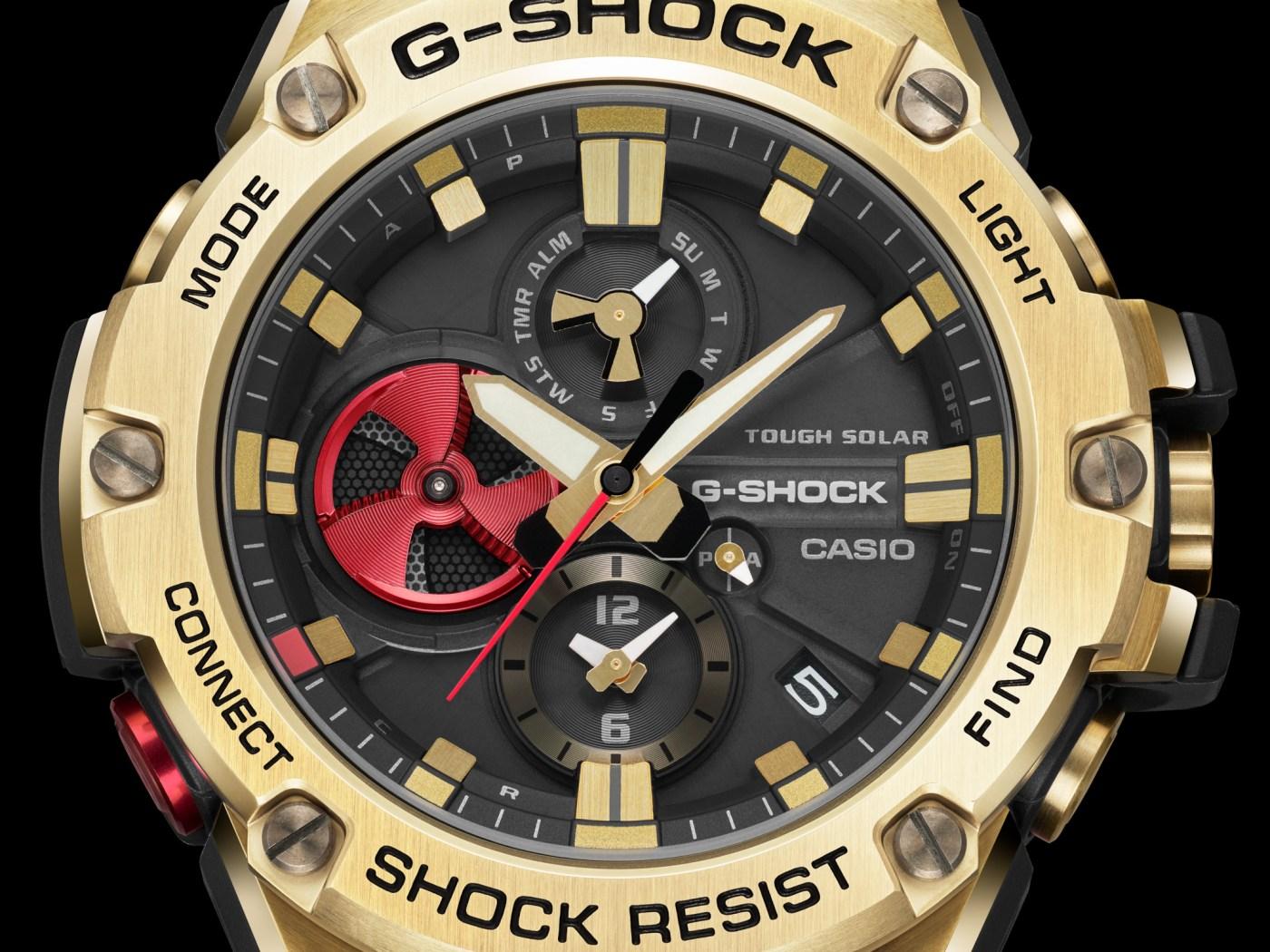 Rui Hachimura x G-Shock GST-B100RH-1A
