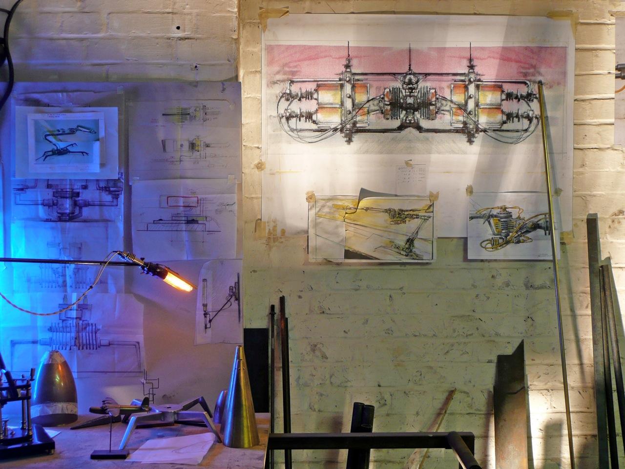 Frank Buchwald Atelier drawings