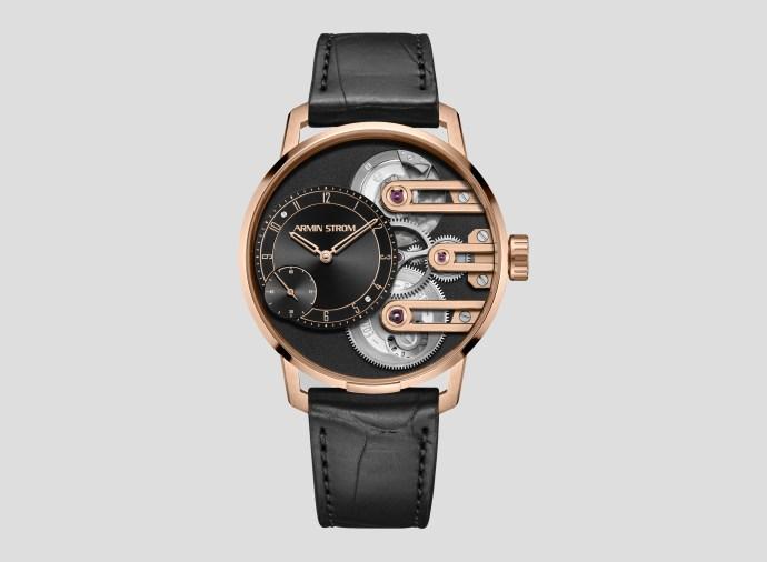 Armin Strom Gravity Equal Force Black Dial Rose Gold