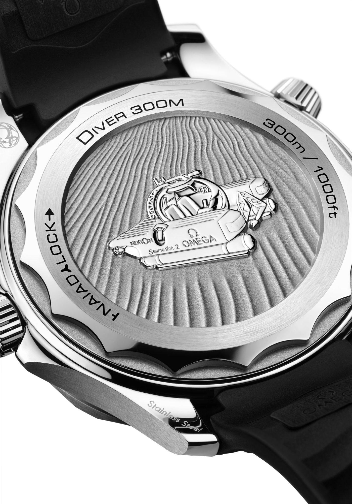 Omega Seamaster Diver 300M Nekton Edition caseback