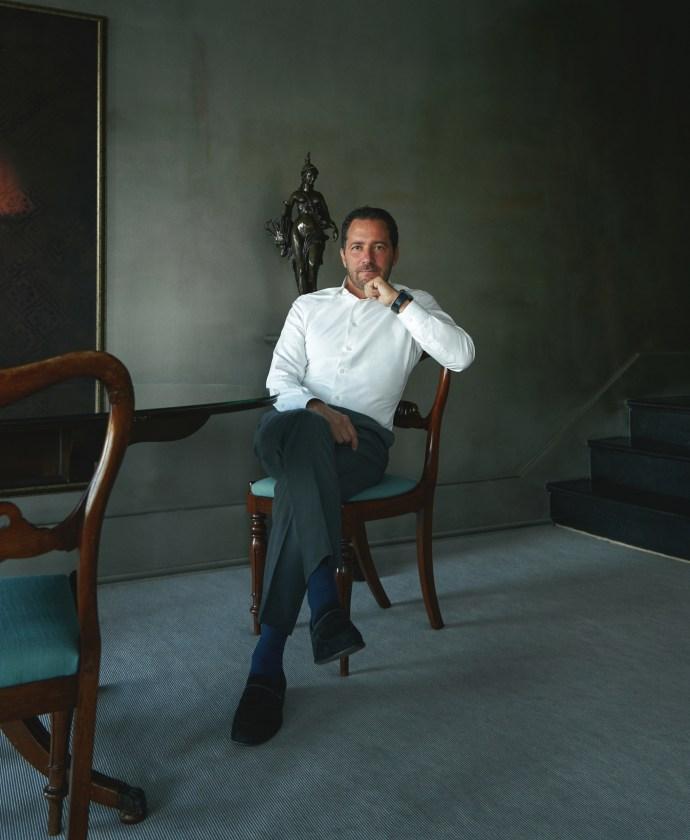 Zenith CEO Julien Tornare 2020 portrait