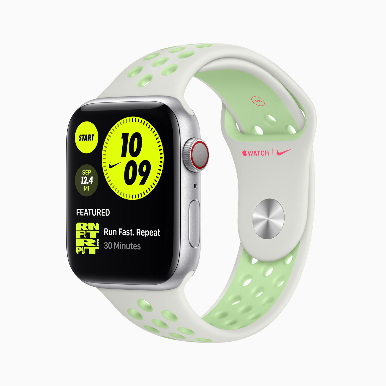 Apple Watch Series 6 Nike watch