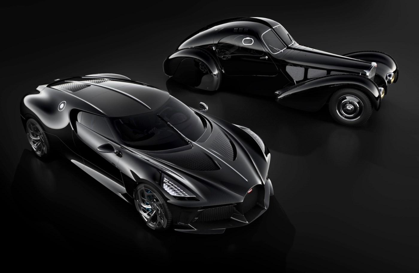 Bugatti Supercars from different eras