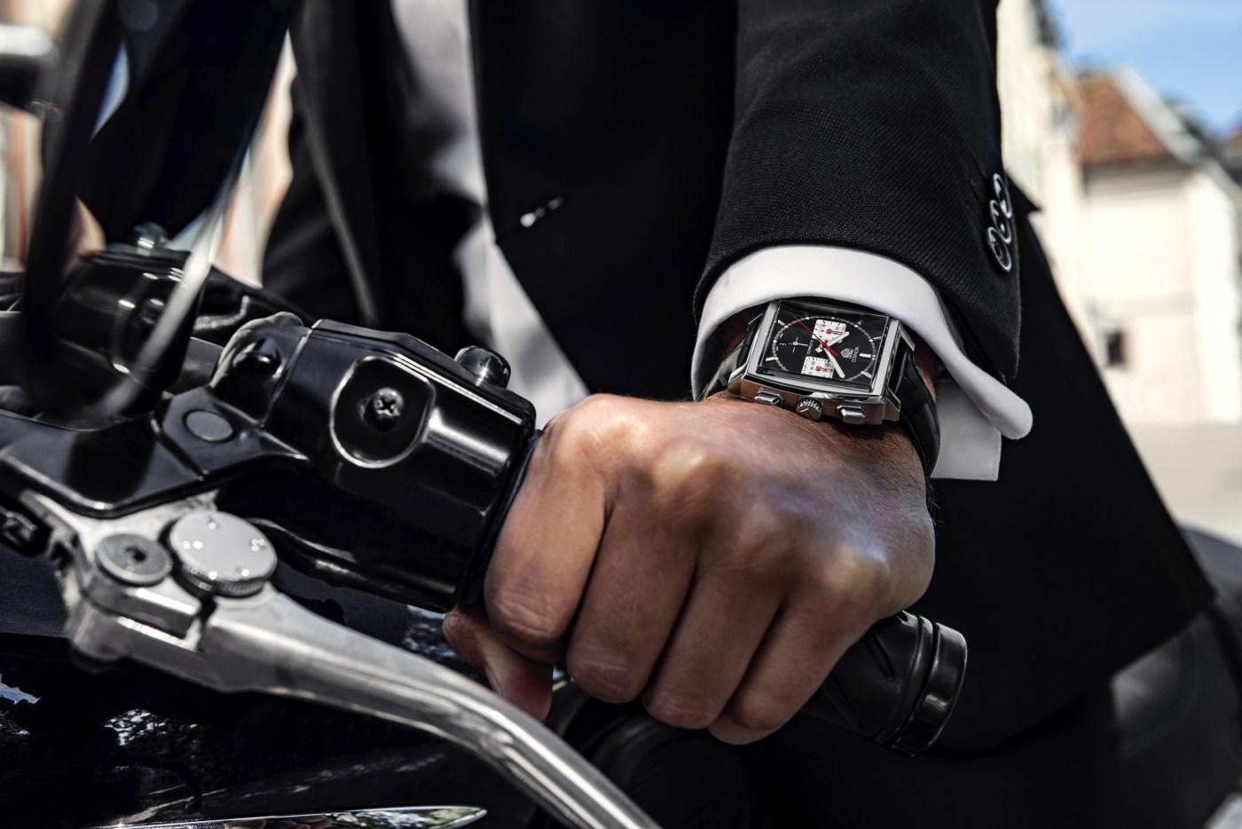 2020 TAG Heuer Monaco Chronograph 39 wristshot