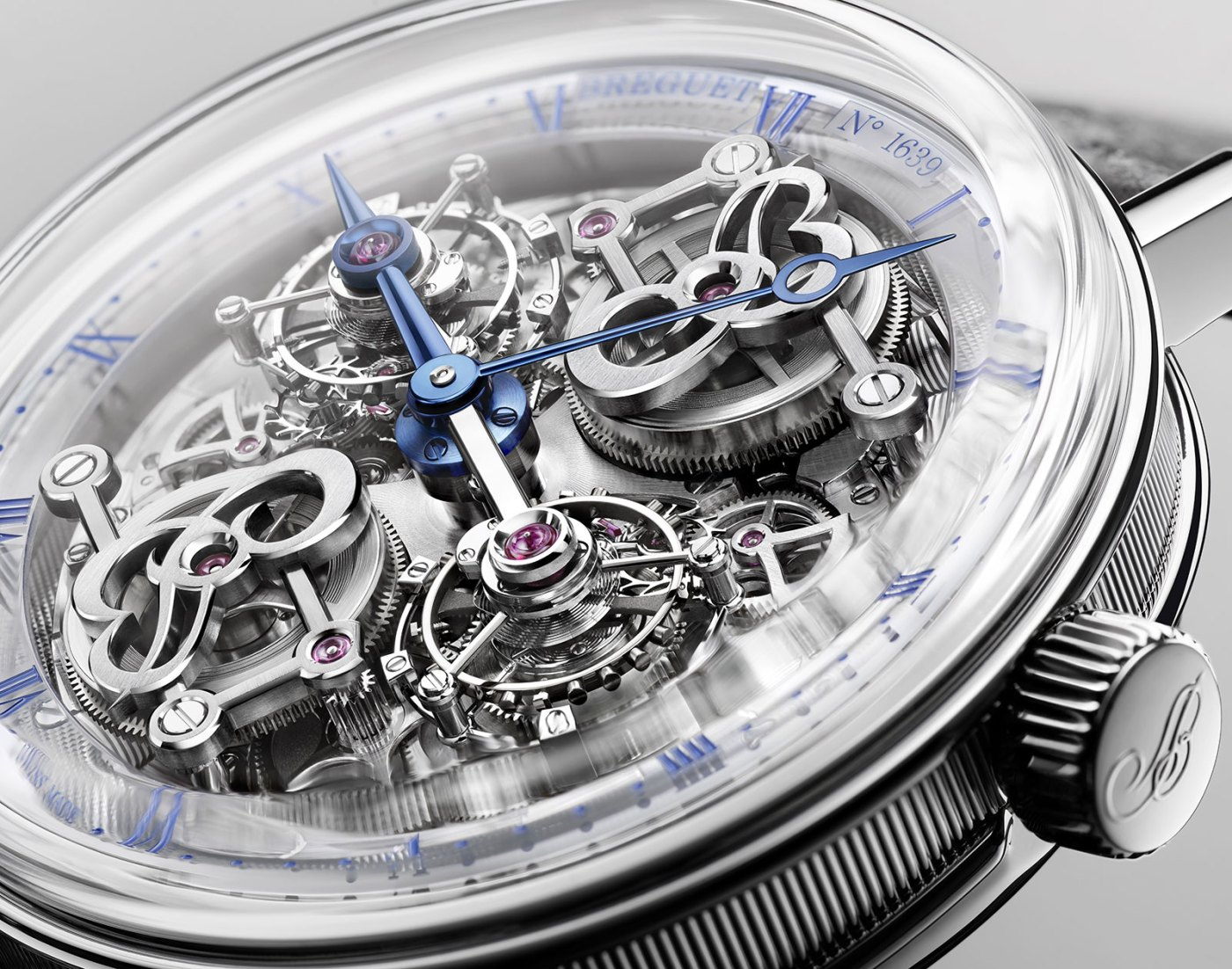 Breguet Classique Double Tourbillon 5345 Quai de l'Horloge close-up
