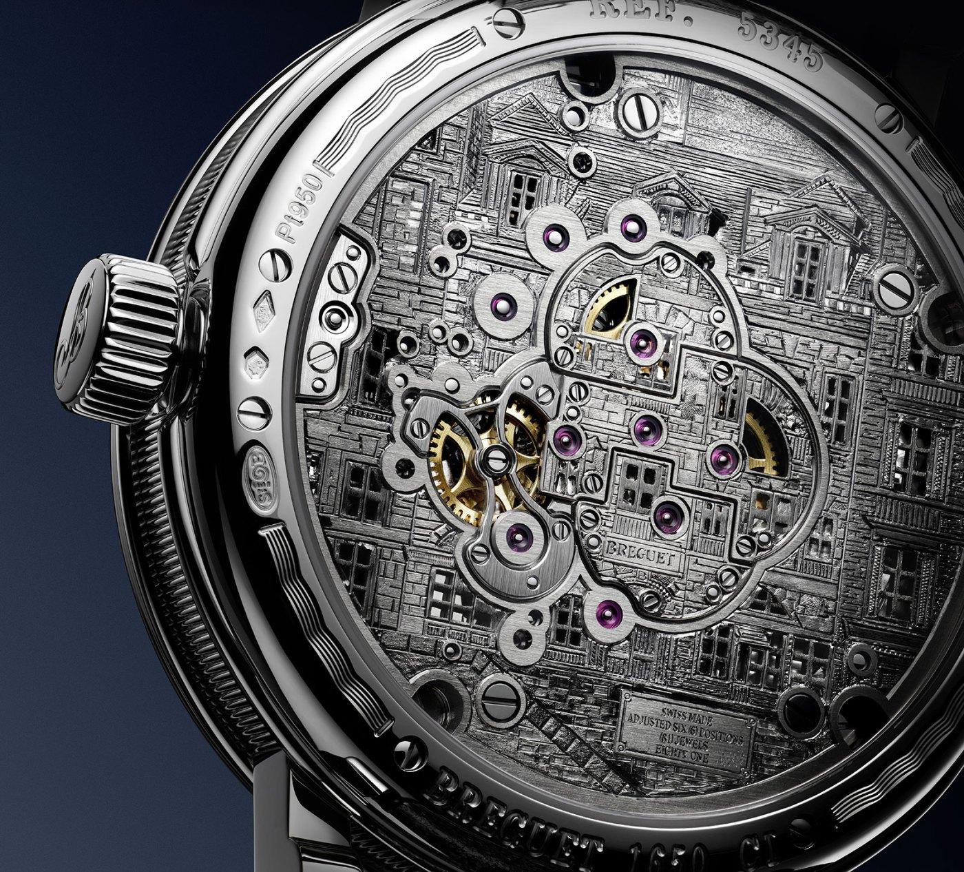 Breguet Classique Double Tourbillon 5345 Quai de l'Horloge caseback