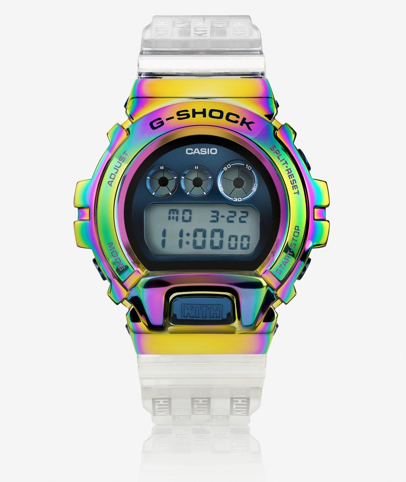 2021 Kith G-Shock GM-6900 Rainbow