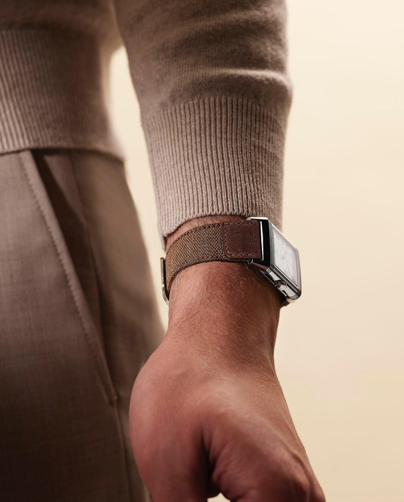 Jaeger-LeCoultre Casa Fagliano Reverso strap wristshot