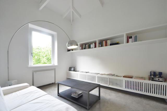 Loft ai Parioli stile minimal e design dei maestri
