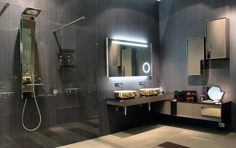 Inda stanze da bagno da vivere Un successo al Salone del Mobile 4 mood realt aumentata e i